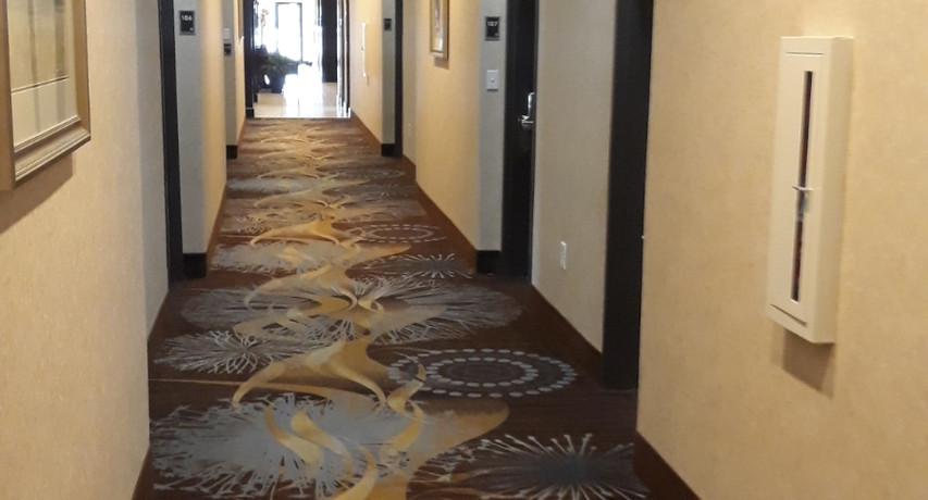 Hallway Best Western Lytle,TX