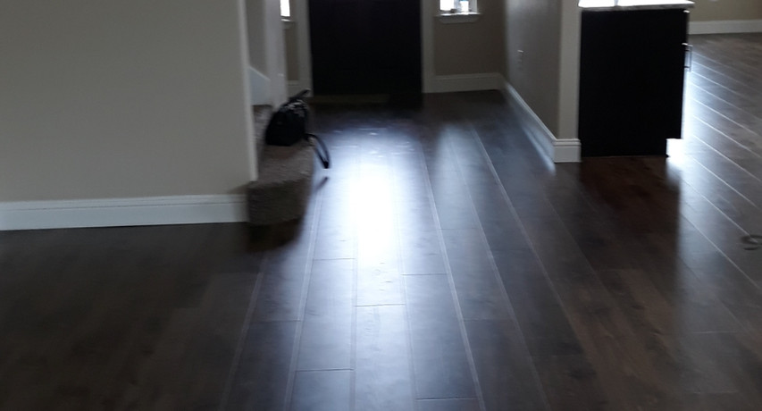 Finished Entry Way- Jacobs Pond