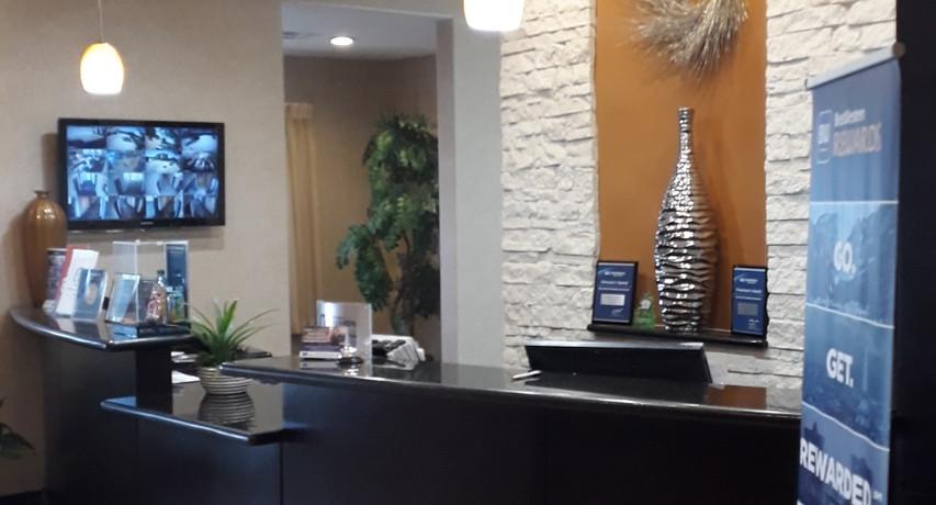 Reception area Best Western Lytle,TX