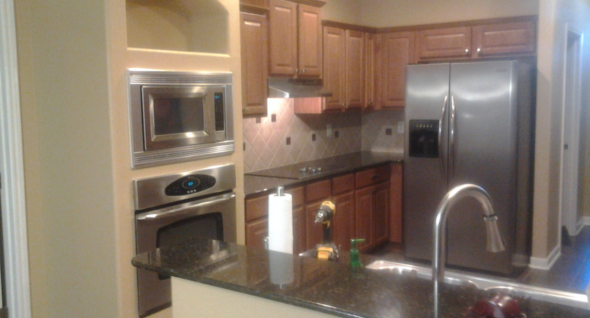 Before Kitchen Cabinet Install