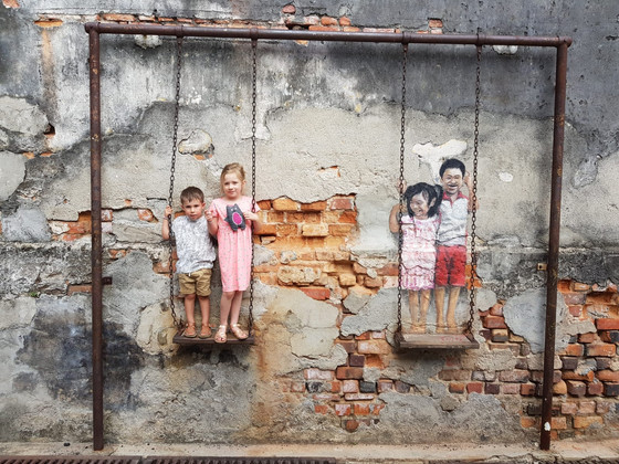 10 days on Malaysia's west coast.  Part 1: Penang with kids.