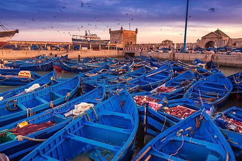 Essaouira port in Morocco.jpg Shot  after sunset at blue hour.jpg