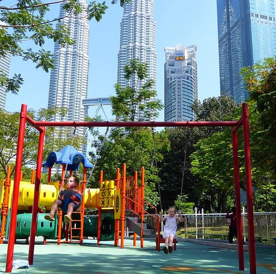 10 days on Malaysia's west coast. Part 3: Kuala Lumpur with kids.
