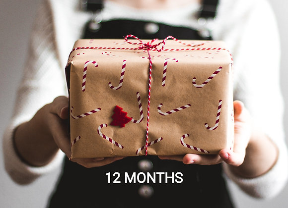 12 MONTH Pre-paid Coffee Subscription