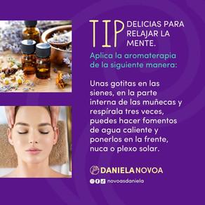 Tip Delicias para relajar la mente.