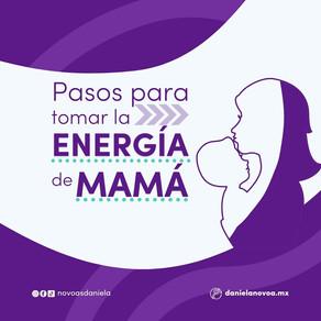 Pasos para tomar la energía de Mamá