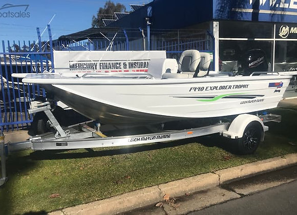 2020 Quintrex F440 Explorer Trophy // Mercury 60hp // Telwater Trailer - Package