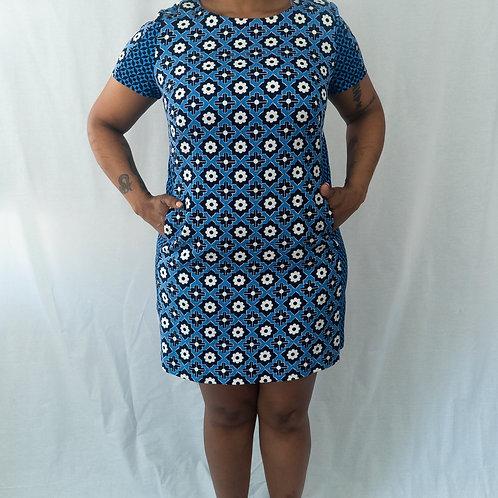 Boden Mod Print Shift Dress