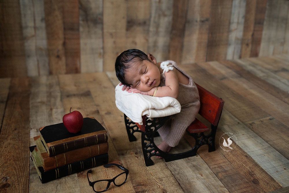 Newborn-miami-photographer-photography-florida-maternity-baby-posed-props-school-desk