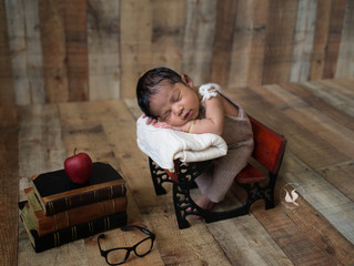 Baby Landon | A Loved Child Born Away from a Deployed Dad | Miami Newborn Photographer
