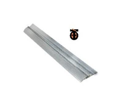 Направляющая серебро матовое, одинарный STENLEY, 3м, (CBH-260)