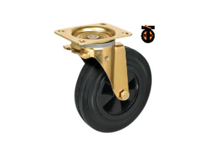 Колесо промышленное поворотное усиленное SCM 160