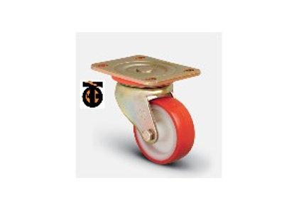 Колесо сверхмощное полиуретановое поворотное 150 мм  ED01 ZBP 150, диск-полиамид