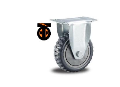 Колесо промышленное ЛИТОЕ неповоротное 100мм    4002100-ЛИТ
