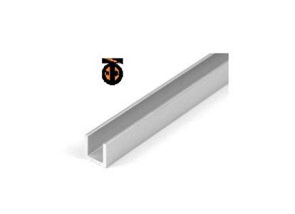 Направляющие П-образные нижняя (с пазом) для В-103 (2м)13*13