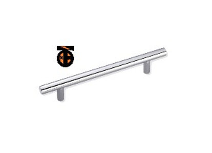 Ручка-рейлинг 128мм (хром) ф12мм