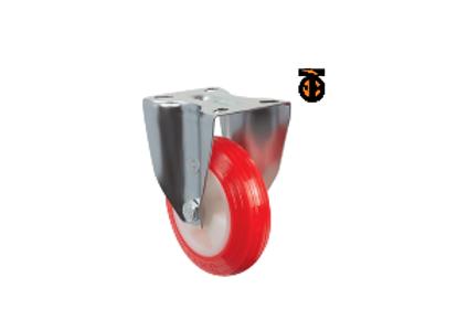 Неповоротное полиуретановое колесо EM02 ZKP 200