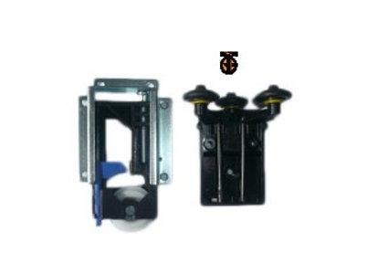 Ролики шкаф-купе STENLEY неврезные, (2 верхних и 2 нижних ролика)