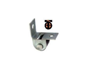 Ролик выкатной, Г-образный крепеж, цинк, 15 мм ( 531 )