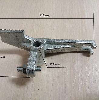 Нажимной рычаг клапана ( с педалью )