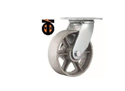 Колесо термостойкое поворотное 202 мм  1132202