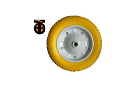 Колесо пневматическое. PU2400 диам. колеса 350 мм (20 мм). ЛИТОЕ    PU2400(20)