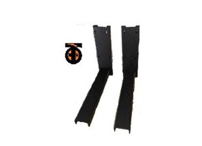 Кронштейн для СВЧ - с регулировкой длины (365мм-515мм) черный