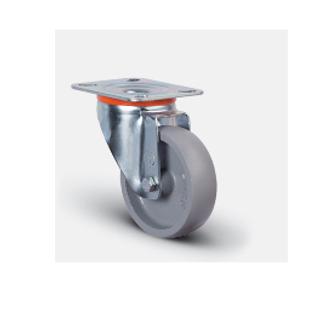 Колесо термостойкое поворотное 80 мм