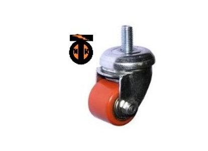 Колесо полиуретан. поворот болт М10. 35 мм (903035Т)  1048035