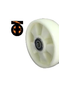 Колесо (ПОЛИАМИД)  опорное для рохли 200 мм