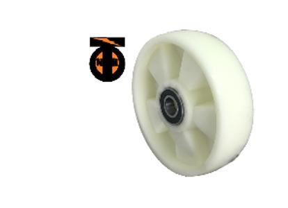 Колесо (ПОЛИАМИД) опорное для рохли 180 мм