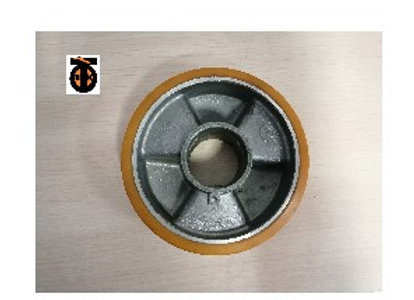 Колесо рулевое (алюминий- полиуретан) D-150