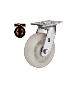 Колесо полиамид поворотное  200 мм  1112200