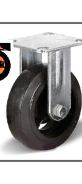 Колесо большегрузное обрезиненное неповоротное 250   FCD85