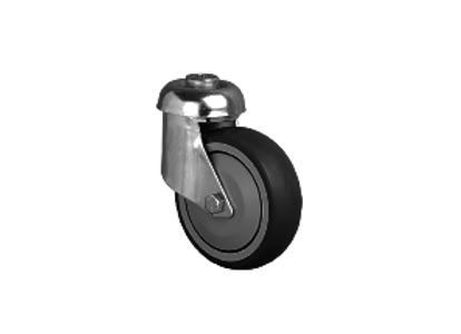 Колесо аппаратное с подшипником поворотное под болт 10 мм ( ES04 MBT 100 )