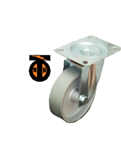 Колесо Чугун поворотное 100мм (30мм) литой обод SCss42  1132100 Light