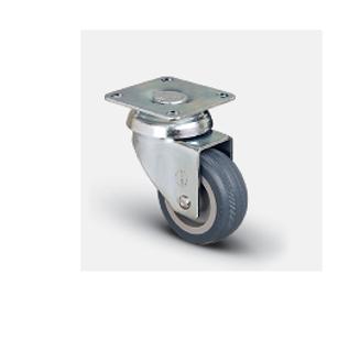 Колесо аппаратное поворотное 50 мм ( EP01 MKT 50 ), диск-полипропилен