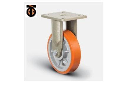 Колесо полиуретановое сверхмощное неповоротное 250 мм (EV02 VBP 250), диск-чугун