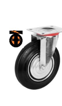 Колесо промышленное поворотное  D-75  SC 93