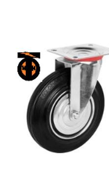колесо промышленное поворотное D- 85  SC97