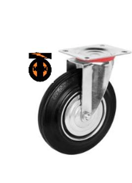 Колесо промышленное поворотное D-200  SC 80