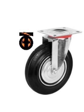 Колесо промышленное поворотное  D-160  SC 63