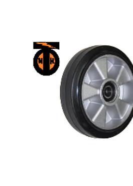 Колесо рулевое под гидроузел для гидравлических тележек. D 200мм