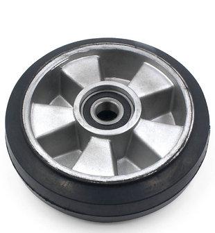 Колесо рулевое 180 (резина-алюминий)
