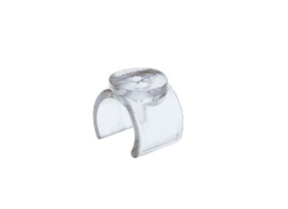 Jr-40.25 Держатель стеклянной полки пластиковый (плоский)
