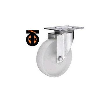 Колесо полиамидное( нейлоновое ) поворот. 125 мм  1122125