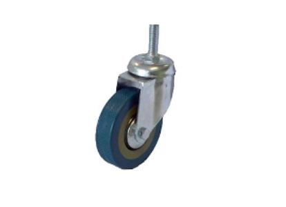 Колесо серая резина 50 с болтовым креплением М10