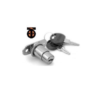 От 2 шт. Замок мебельный нажимной, круглый ключ (Z/M02533700)