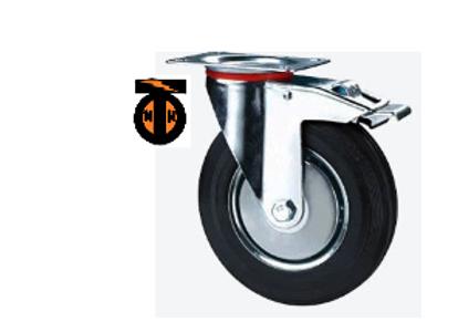 колесо промышленное поворотное с тормозом 250   SCB85