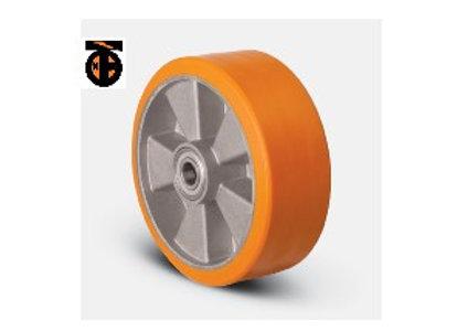 Колесо полиуретановое 200 мм ( ABP-200 ), диск алюминий
